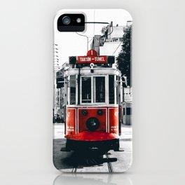 Istanbul - Taksim iPhone Case