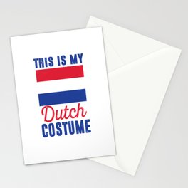 my dutch costume netherlands holland costume cheese Stationery Cards