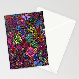 Flowers on the Brain Stationery Cards