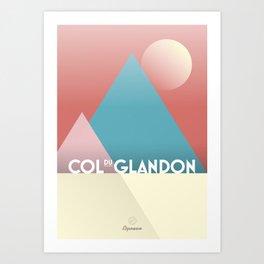 Col du Glandon / Cycling Art Print