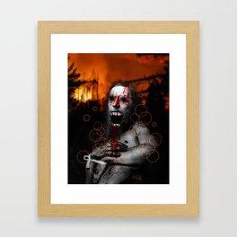 """""""The Relapse"""" Framed Art Print"""