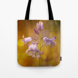 There were lots of them.... this time in bokeh bubbles Tote Bag