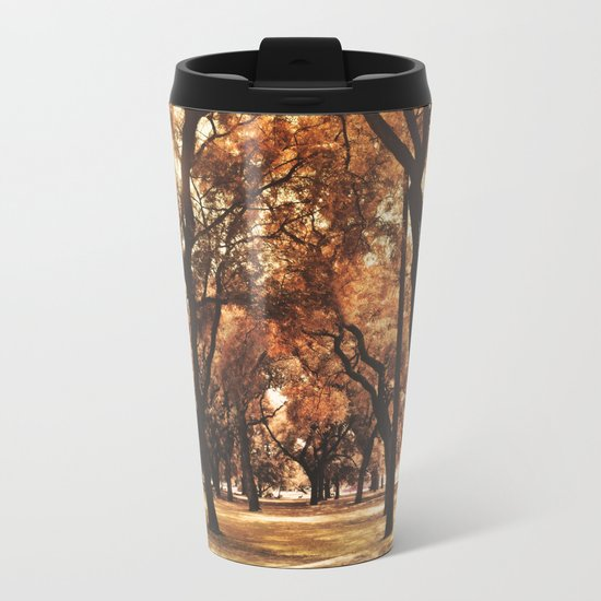 Through The Trees Metal Travel Mug
