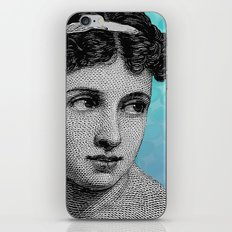 Seductress Blue iPhone Skin