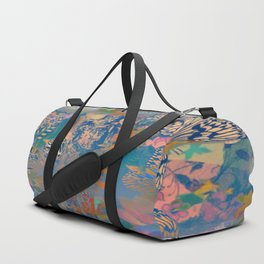 BUDDHA IN THE MISTS OF TIME Duffle Bag