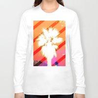 palm tree Long Sleeve T-shirts featuring Palm tree by emegi