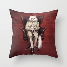 You Only Live Nine Times Throw Pillow