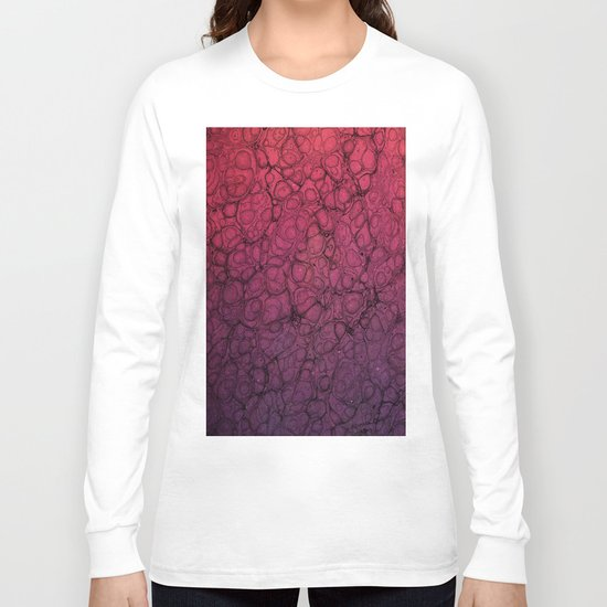 Pink Pattern 56 Long Sleeve T-shirt