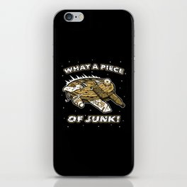 What a Piece of Junk! iPhone Skin