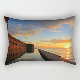 Fort Jefferson, Dry Tortugas Rectangular Pillow