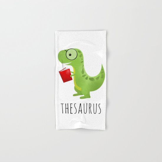 Thesaurus Hand & Bath Towel