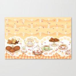 Dutch Tea Party Canvas Print