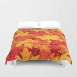 Autumn leaves #10 Duvet Cover