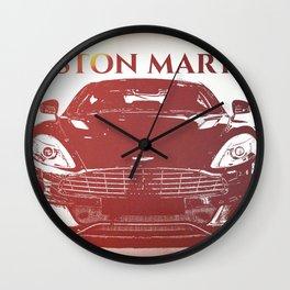 Aston Martin Heat Wall Clock