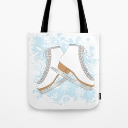 Ice skates Tote Bag