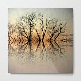 Antique tree Metal Print
