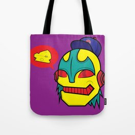 cheeze talk Tote Bag