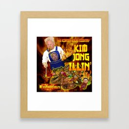 Kim Jong Illin' Framed Art Print