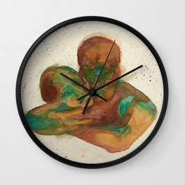 In your arms Wall Clock
