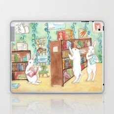 Bookstore Bunnies Laptop & iPad Skin