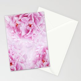 Pink Peonies Dream #1 #floral #decor #art #society6 Stationery Cards
