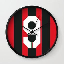 Van Basten Rossoneri Wall Clock