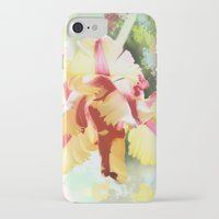 water colour iPhone & iPod Cases featuring Water colour parrot tulip by thea walstra
