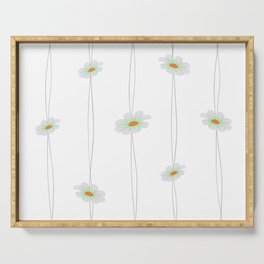 Simple Daisy String Serving Tray