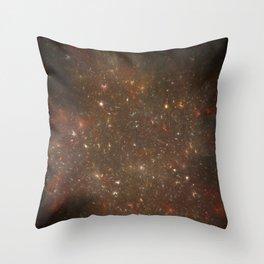 Rosette's Star Splattered Canvas Throw Pillow