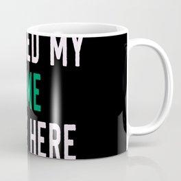 i paused the game to be here Coffee Mug