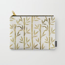 Bamboo Stems – Gold Palette Carry-All Pouch