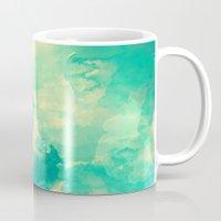 underwater Mugs featuring Underwater by Galaxy Eyes