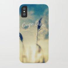 Carpe Diem iPhone X Slim Case
