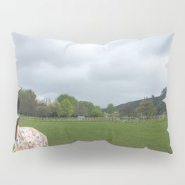 Stormy Day Horse Pillow Sham