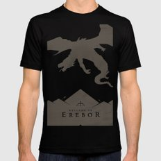 Welcome to Erebor MEDIUM Mens Fitted Tee Black
