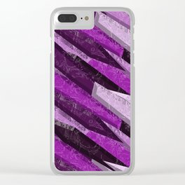 rose-colored dragonstone Clear iPhone Case