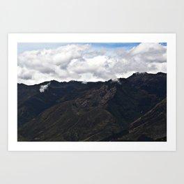 Cordillera Andina, Venezuela Art Print