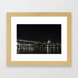 Millennium Bridge, London Framed Art Print
