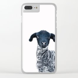Suffolk Lamb Clear iPhone Case