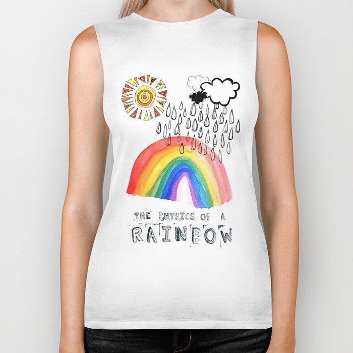 The Physics of a Rainbow Biker Tank