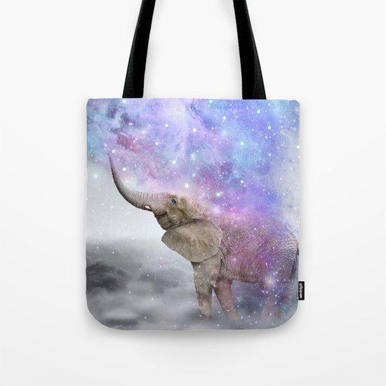 Don't Be Afraid To Dream Big • (Elephant-Size Dreams) Tote Bag