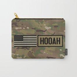 Hooah (Camo) Carry-All Pouch