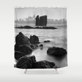 Seascape with islets Shower Curtain