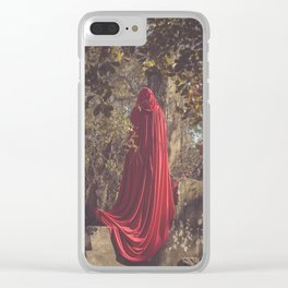 Time Crumbles Things II Clear iPhone Case