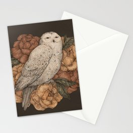 Snowy Owl Stationery Cards