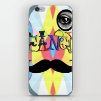 font iPhone & iPod Skins featuring Fancy Font by Madison R. Leavelle