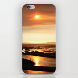 River on Fire 2 iPhone Skin