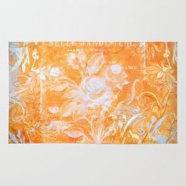 French Twist Orange Rug