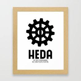 Heda (Commander) Framed Art Print