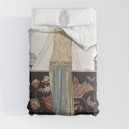 Costumes Parisiens No 51 Pour St Moritz from Journal des Dames et des Modes (1913) fashion  in high Comforters
